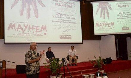 INTEGRITI ART NIGHT: Gobok Wayang Integriti: 'Mayhem' Persepsi Atau Integriti