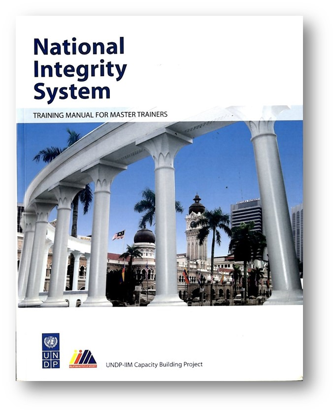 National Integrity System Training Manual for Master Trainers