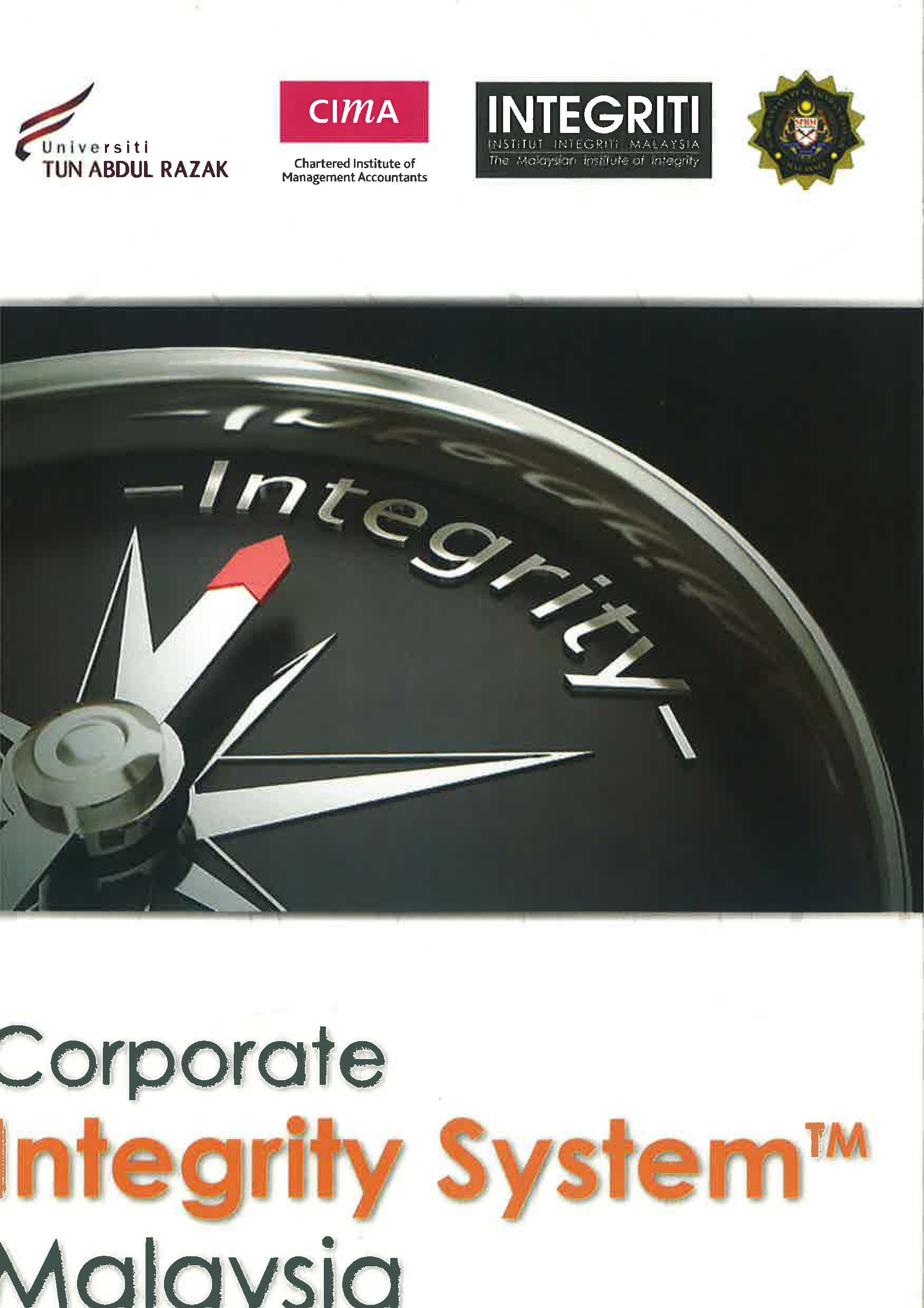 Corporate Integrity System Malaysia Selected Case Studies Image