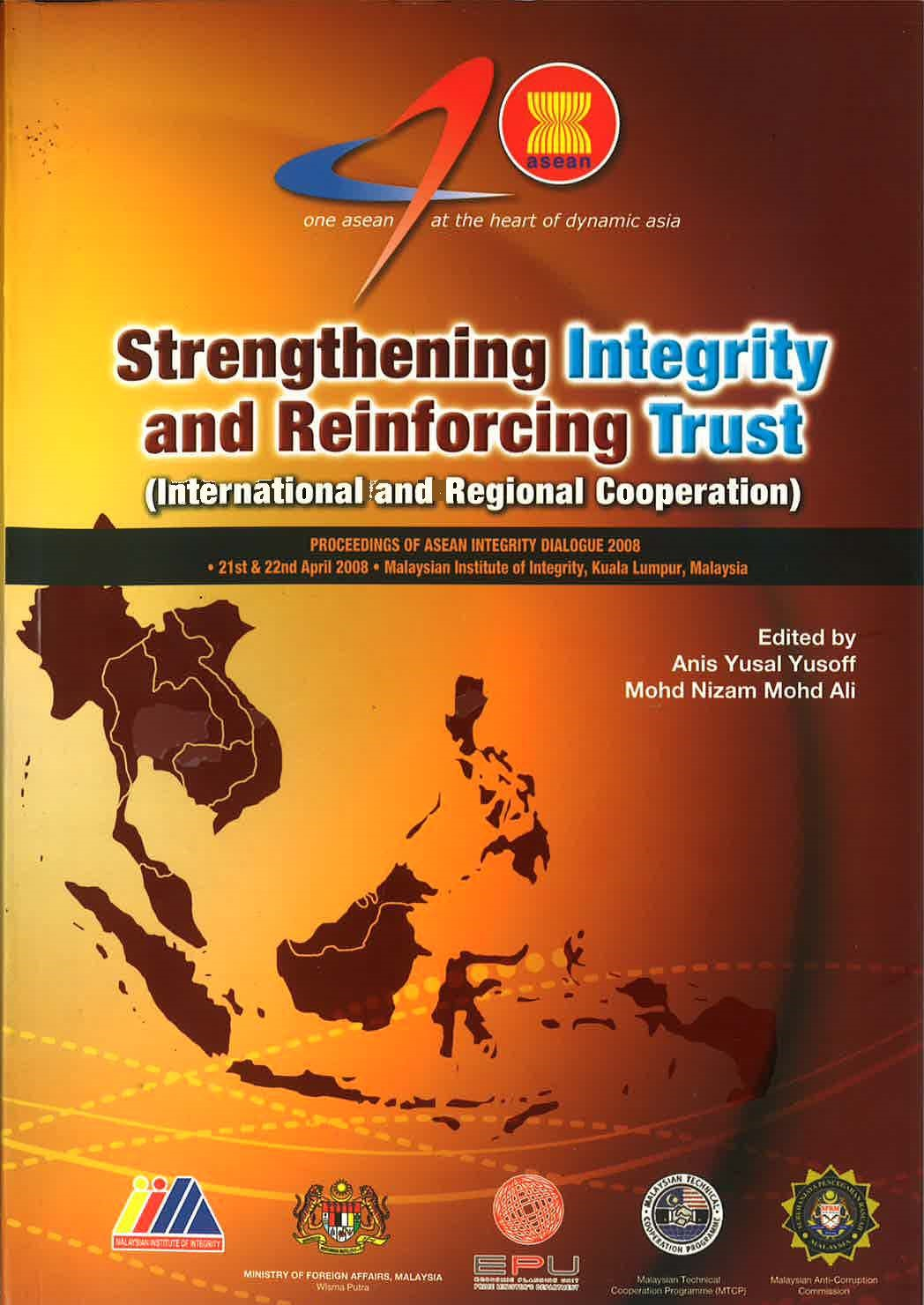 Strengthening Integrity and Reinforcing Trust (International and Regional Cooperation) Image