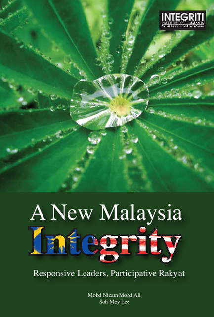 A New Malaysia Integrity Responsive Leaders, Participative Rakyat Image
