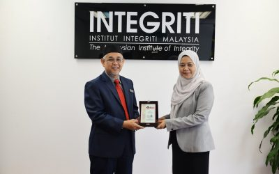 Kunjugan Hormat Terengganu Strategic & Integrity Institute