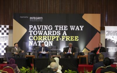 PAVING THE WAY TOWARDS A CORRUPT – FREE NATION