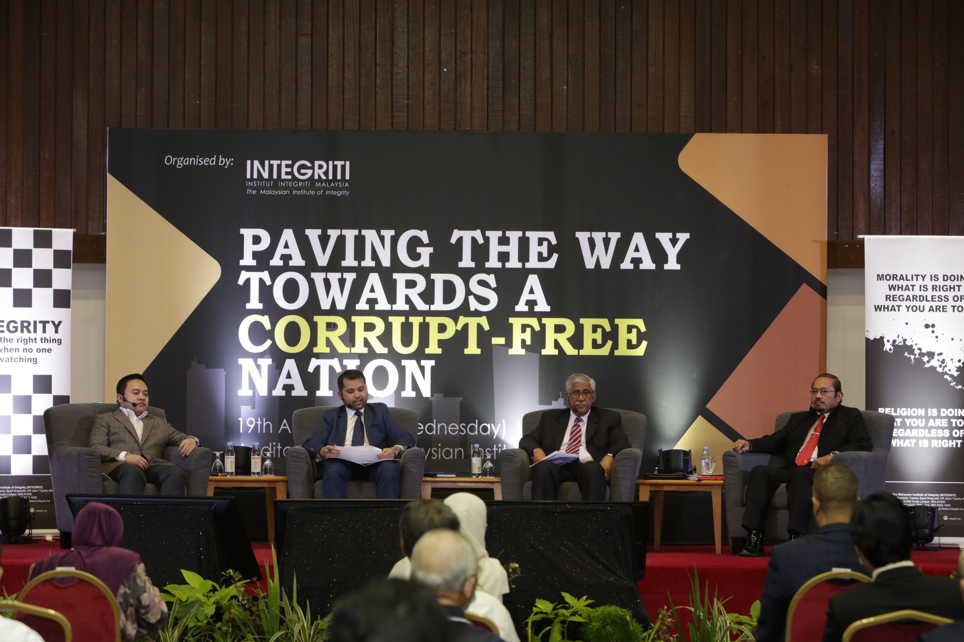 Paving the Way Towards A Corrupt - Free Nation